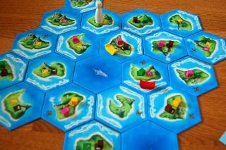 Tahiti - Spielaufbau von Hendrik Breuer