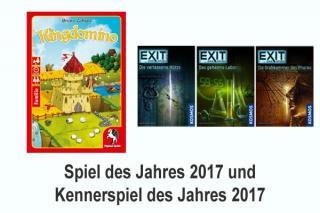 Kingdomino ist Spiel des Jahres 2017