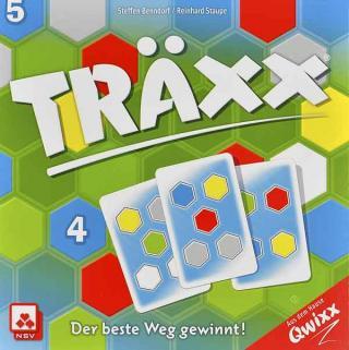 Träxx - kurzes, schnelles Gesellschaftsspiel - Foto von NSV