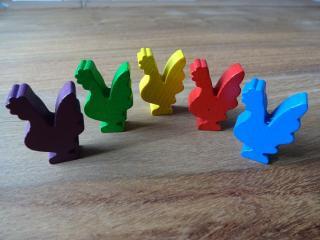 Erweiterung Farb-Mehrheiten in Blindes Huhn - Foto aus dem Reich der Spiele