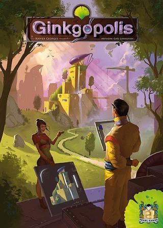 Ginkgopolis - Cover von Pearl Games