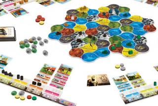 Spielaufbau von Deus - Foto von Pearl Games