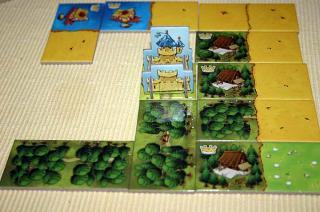 Kingdomino - das Königreich wächst - Foto von Reich der Spiele