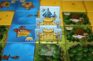 Kingdomino - fertiges Königreich - Foto von Reich der Spiele