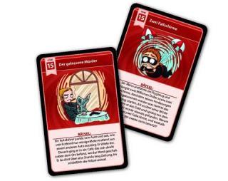 Spielkarten MindMaze - 66 Kriminalfälle - Foto von Pegasus Spiele