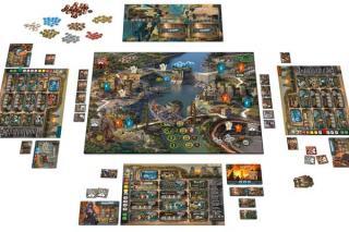 Spielaufbau Outlive - Foto von Pegasus Spiele