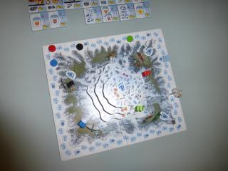 Brettspiel Yeti - Foto von Jörn Frenzel