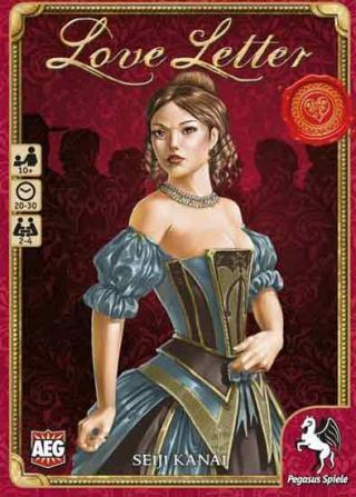 Schachtel des Kartenspiels Love Letter - Foto von Pegasus Spiele