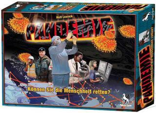 Pandemie - Schachtelgrafik von Pegasus Spiele