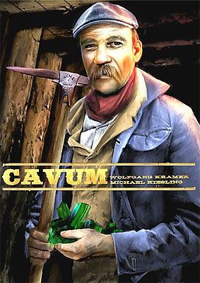 Cavum - Schachtelgrafik von QWG Games