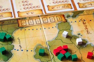 Eight-Minute Empire - Spielszene von Hendrik Breuer