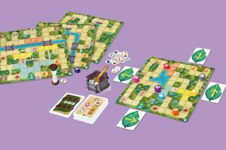 Magic Maze Kids - Spielmaterial - Foto von Sit Down Games