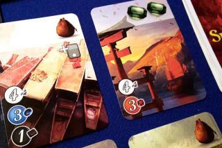 Spielkarten von Die Städte von Splendor - Foto von Axel Bungart