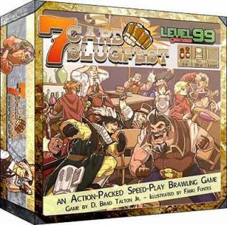 7-Card Slugfest - Schachtel von Level 99 Games