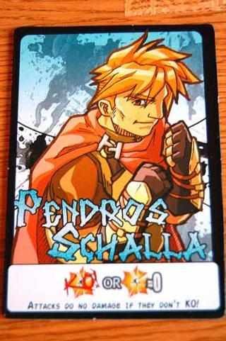 7-Card Slugfest - Charakterkarte von Hendrik Breuer