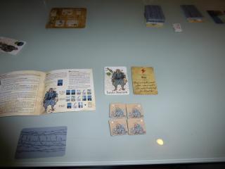 Les Poilus Spielmaterial - Foto von Jörn Frenzel