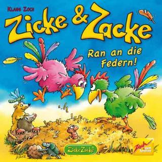 Zicke Zacke - Ran an die Federn - Spielschachtel - Foto vom Zoch Verlag