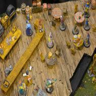 Foto von der Spiel '21: Burgenmodelle - Miniaturen