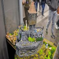 Foto von der Spiel '21: Burgenmodelle