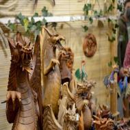 Foto von der Spiel '21: Drachenfiguren