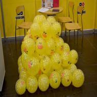 Foto von der Spiel '21: Entenballons