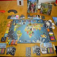 Foto von der Spiel '21: Excavation Earth - Aufbau