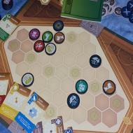 Foto von der Spiel '21: Kriegstruhe - Brett und Material