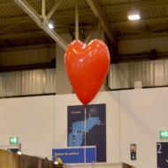 Foto von der Spiel '21: der Herzluftballon