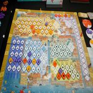Foto von der Spiel '21: Mille Fiori - Aufbau
