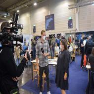 Foto von der Spiel '21: n-tv berichtet live - Interview mit Dominique Metzler