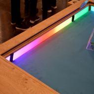 Foto von der Spiel '21: Spieltisch mit Beleuchtung