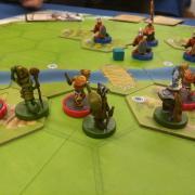 Spielbrett von Dawn of Peacemakers