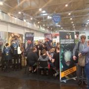 Stand von Godot Games auf der Spiel 2019 in Essen