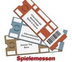 Spielemesse Essen, Spielwarenmesse Nürnberg, Suisse Toy